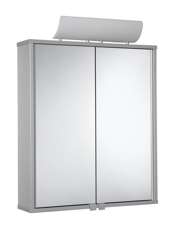 Jokey Plastik ALUSMART Zrcadlová skříńka - aluminium