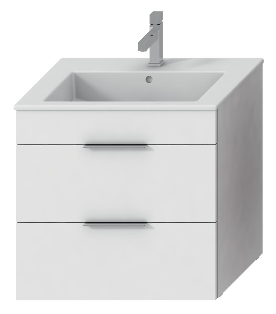 Jika H4536021763001 Skříňka s umyvadlem 65 cm, s 2 zásuvkami