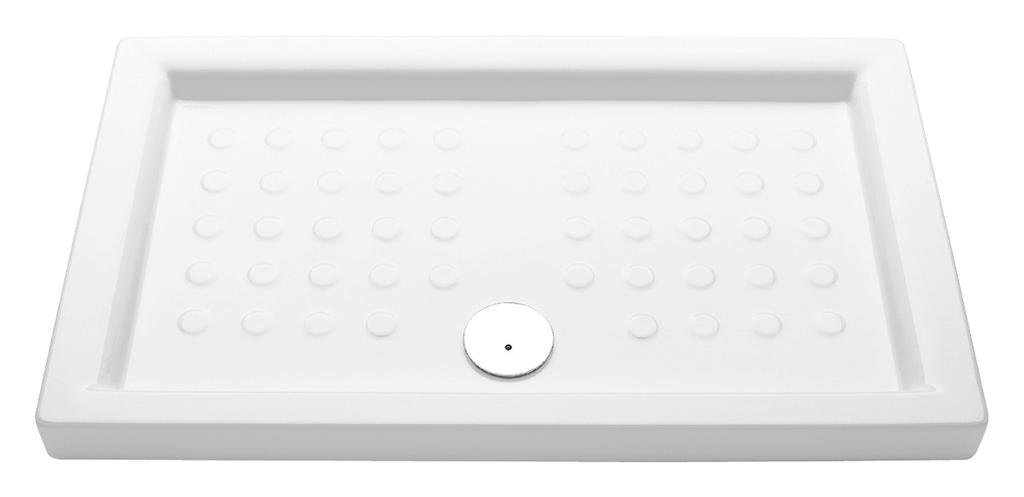 Jika H2121530000201 Sprchová vanička keramická obdélníková 80×100 cm