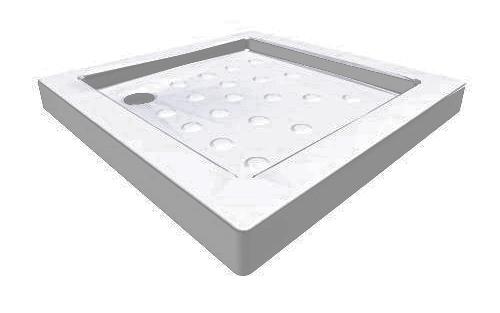 Jika H2120800000201 Sprchová vanička keramická čtvercová 80 × 80 cm