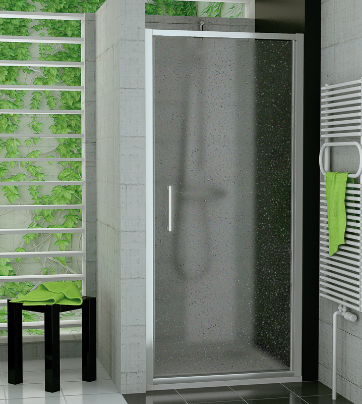 SanSwiss TOPP 0900 01 44 Jednokřídlé dveře 90 cm