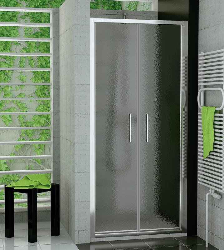 SanSwiss TOPP2 0900 50 44 Dvoukřídlé dveře 90 cm TOPP209005044