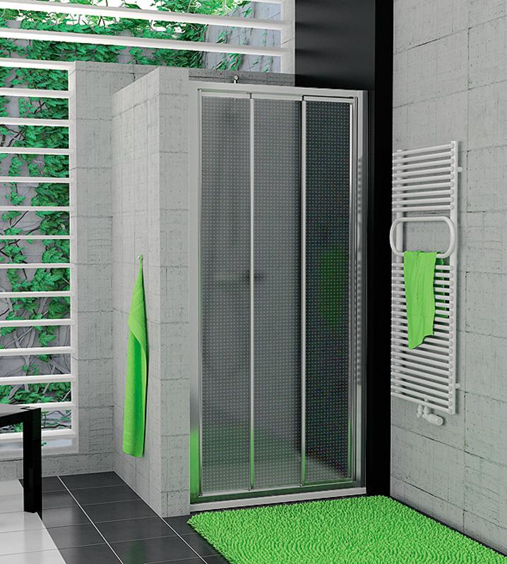 SanSwiss TOPS3 1000 50 30 Sprchové dveře třídílné 100 cm