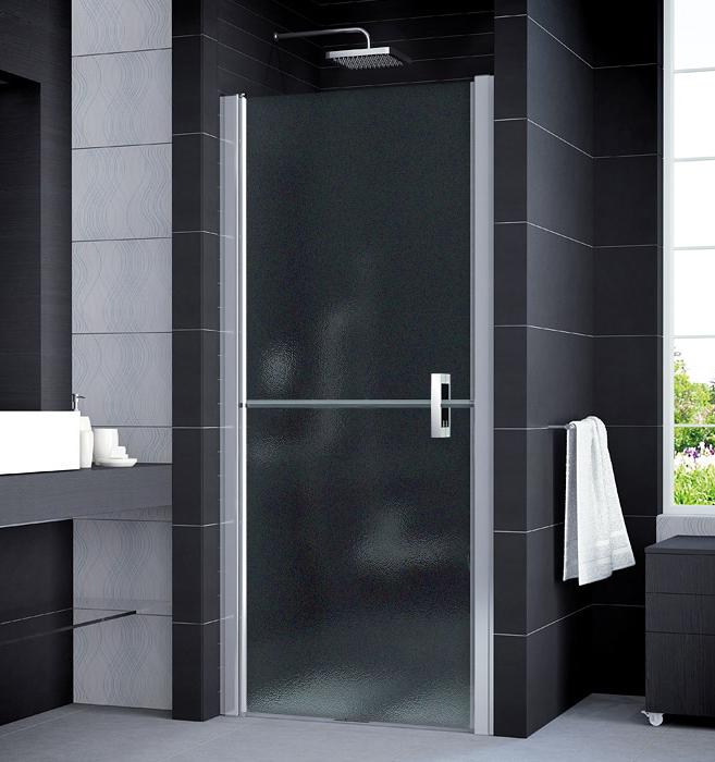 SanSwiss SLM2G 0800 50 22 Sprchové dveře jednokřídlé v 1/2 rozdělené, široké 80 cm, levé