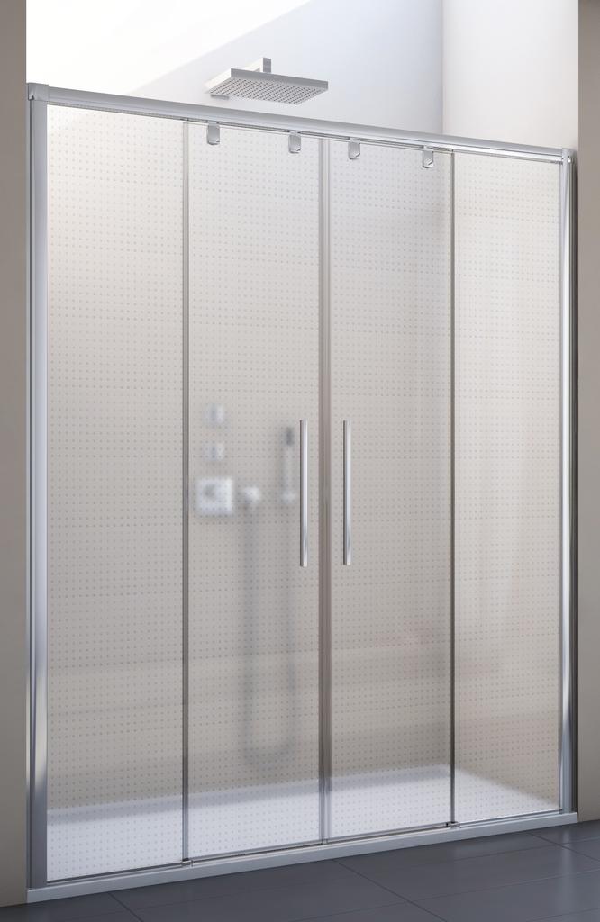 SanSwiss PLS4 170 50 30 Sprchové dveře posuvné dvoudílné 170 cm
