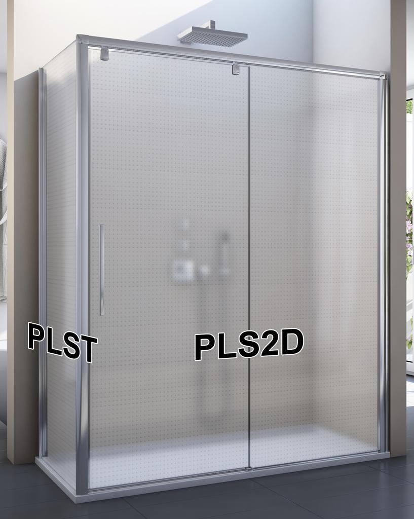 SanSwiss PLST 090 50 30 Boční stěna sprchová 90 cm