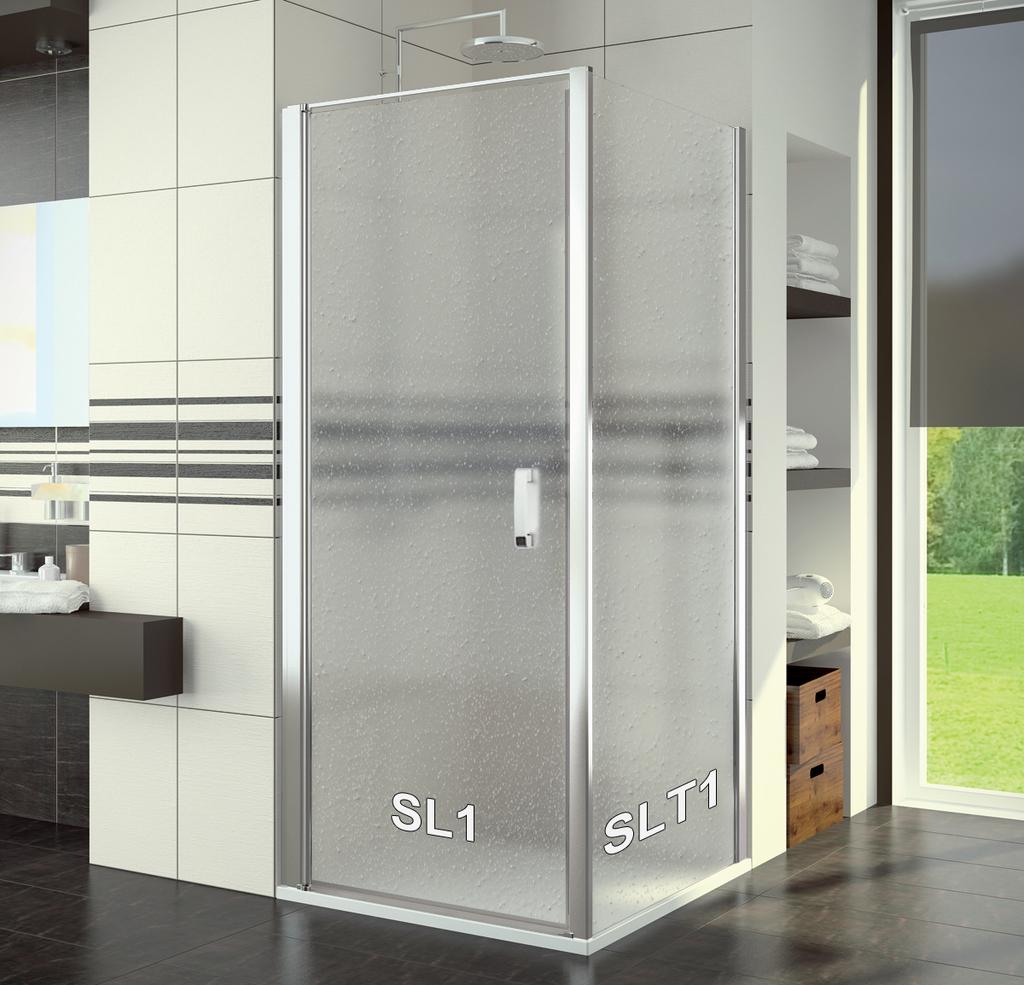 SanSwiss SL1 1000 50 44 Sprchové dveře jednokřídlé 100 cm SL110005044