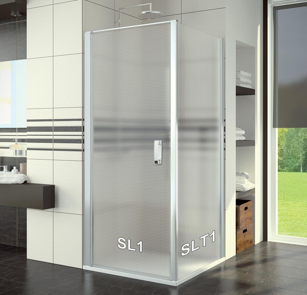 SanSwiss SL1 0800 01 30 Sprchové dveře jednokřídlé 80 cm