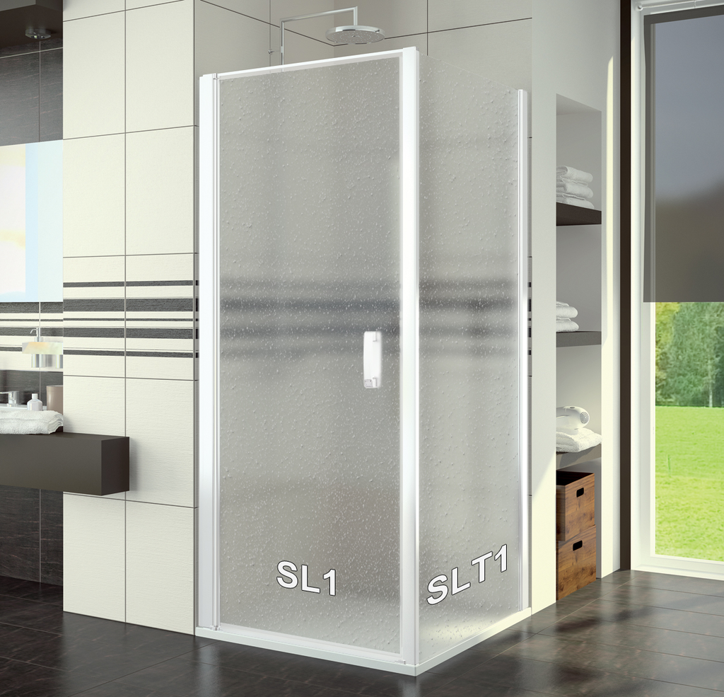 SanSwiss SL1 1000 04 44 Sprchové dveře jednokřídlé 100 cm