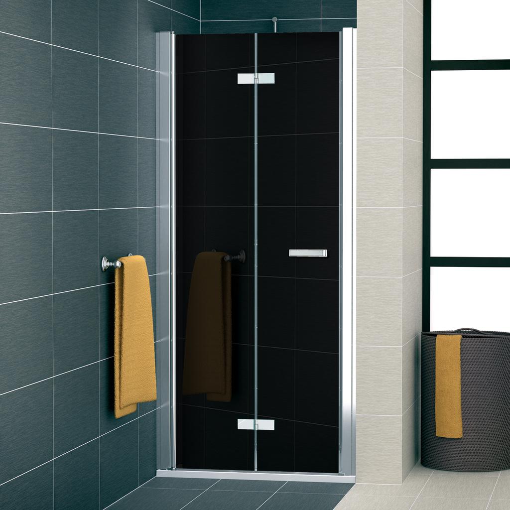SanSwiss SLF1G 1000 50 55 Sprchové dveře dvoudílné skládací 100 cm levé SLF1G10005055