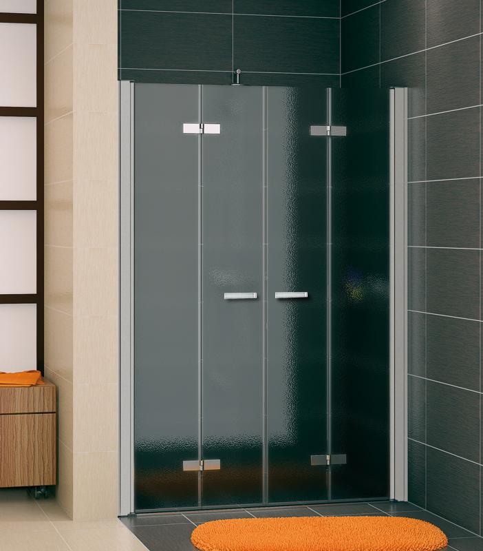 SanSwiss SLF2 1600 01 22 Sprchové dveře dvojité dvoudílné skládací 160 cm