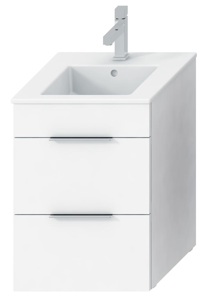 Jika H4536221763001 Skříňka s umyvadlem 45 cm, s 2 zásuvkami