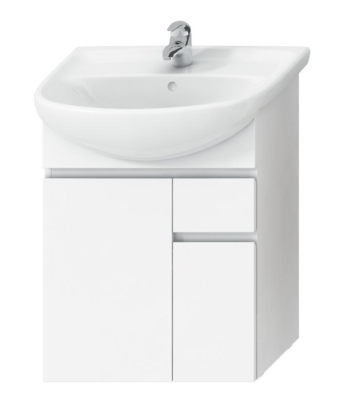 Jika H4531220383001 Skříňka pod umyvadlo 60 cm s 2 dveřmi a 1 zásuvkou