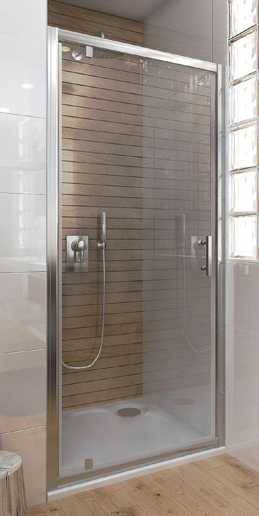 Vagnerplast ORIS JOD 90 Sprchové dveře jednokřídlé pivotové 90 transparent VPZA900ORI3S0X-H0