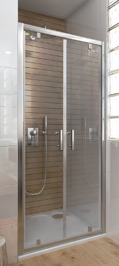 Vagnerplast ORIS DOD 100 Sprchové dveře dvoukřídlé pivotové 100 transparent VPZA100ORI4S0X-H0