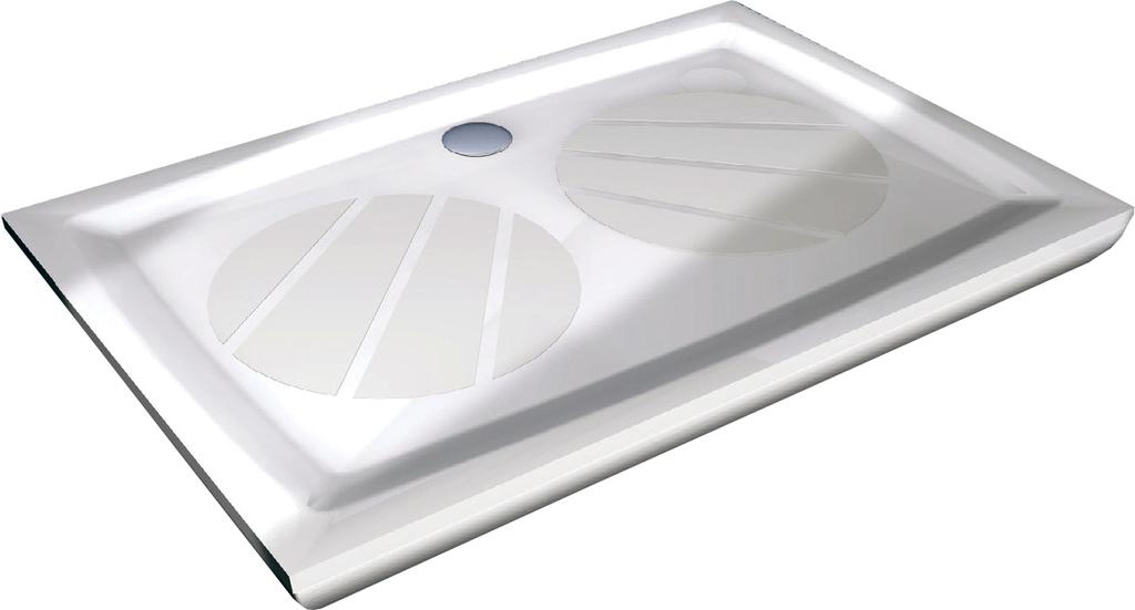 Ravak GIGANT PRO 80×100 Sprchová vanička obdelníková 80×100 cm - bílá XA03A401010