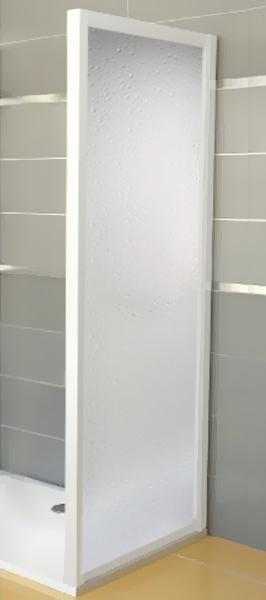 Ravak APSS-80 PEARL Pevná stěna sprchová 80 cm bílá