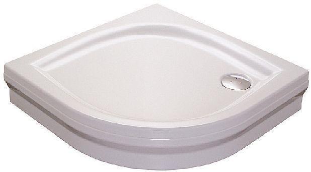 Ravak ELIPSO 90 PAN Sprchová vanička čtvrtkruhová 90×90 cm - bílá