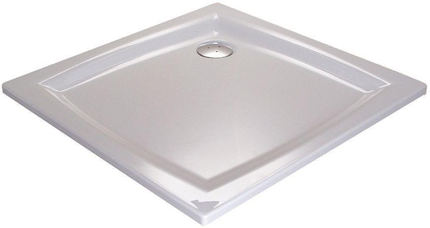 Ravak PERSEUS 100 LA Sprchová vanička čtvercová 100×100 cm - bílá A02AA01210