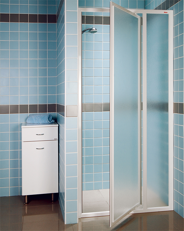 Ravak SDOP-90 GRAPE Sprchové dveře jednokřídlé 90 cm bílé 03V70100ZG