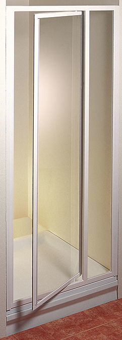 Ravak SDOP-90 TRANSPARENT Sprchové dveře jednokřídlé 90 cm bílé 03V70100Z1