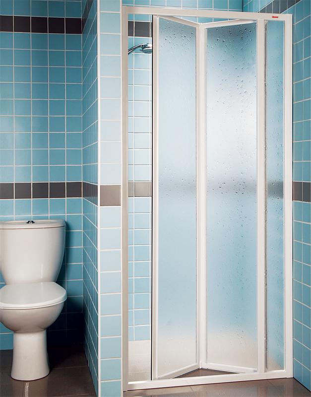 Ravak SDZ3-100 PEARL Sprchové dveře zalamovací 100 cm bílé