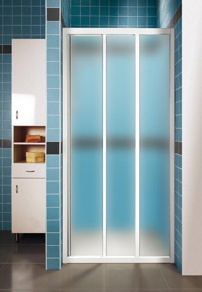 Ravak ASDP3-120 GRAPE Sprchové dveře třídílné 120 cm bílé 00VG0102ZG