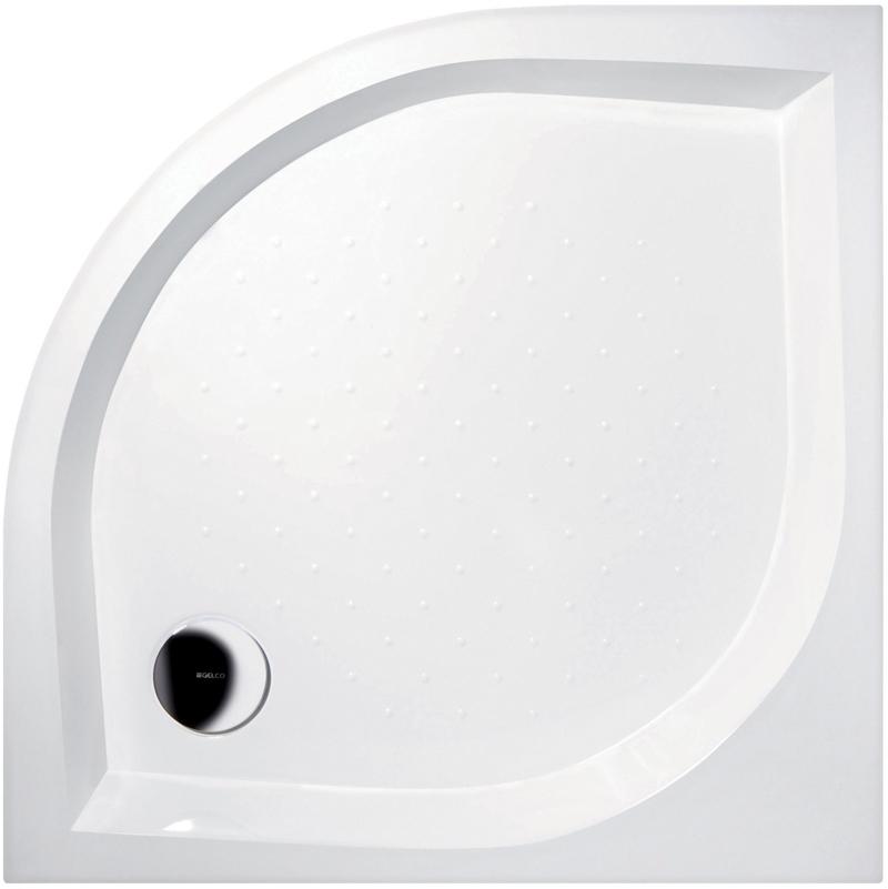 Gelco BETA 90 GB559H Sprchová vanička čtvrtkruhová - profilovaná