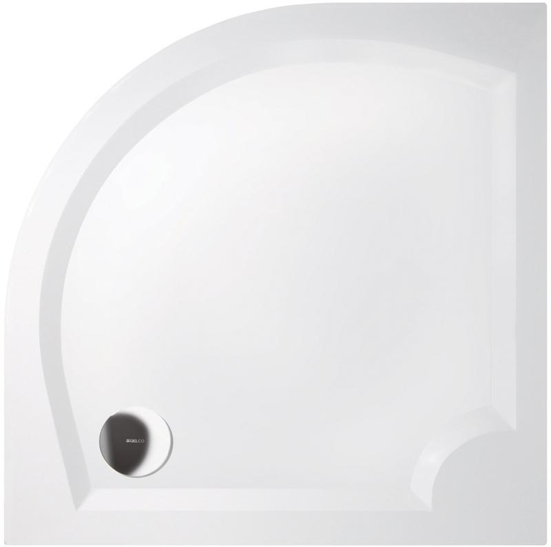 Gelco LAURA 90 GL509 Sprchová vanička čtvrtkruhová - hladká