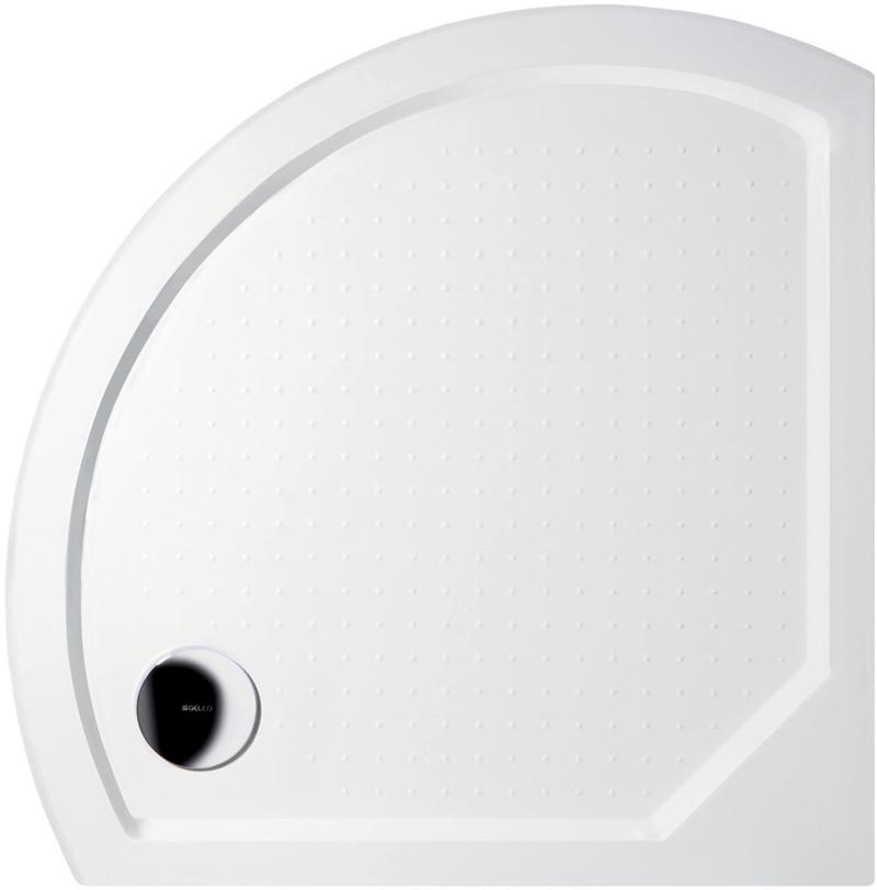 Gelco DITA 80 GD608 Sprchová vanička čtvrtkruhová - profilovaná GD608