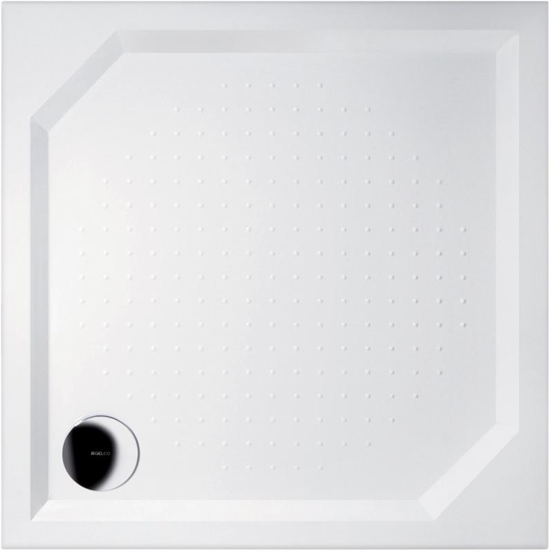 Gelco ANETA 100 GA001 Sprchová vanička čtvercová - profilovaná