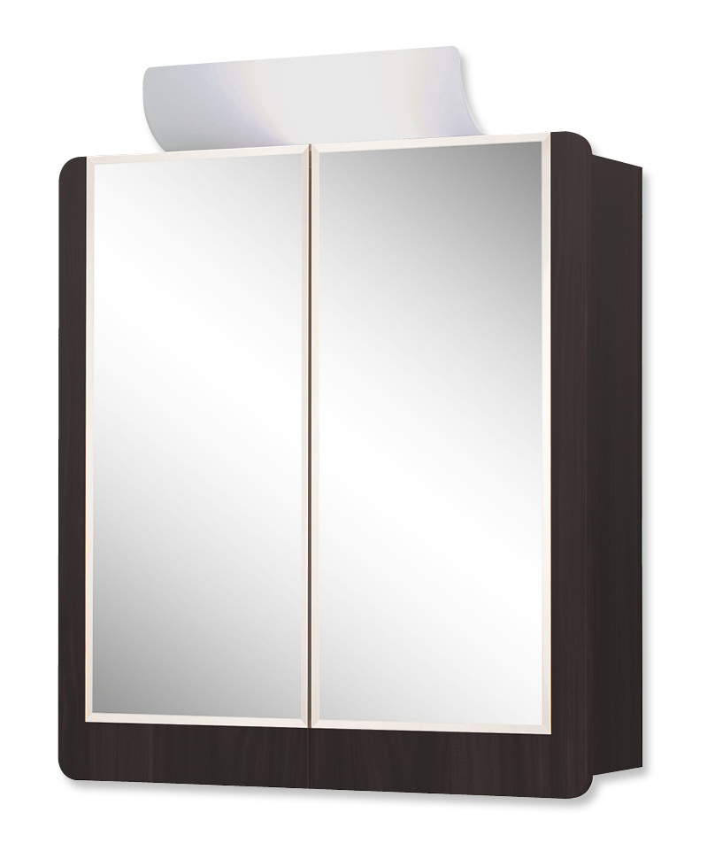 Jokey Plastik VARDÖ ECO Zrcadlová skříňka - wenge