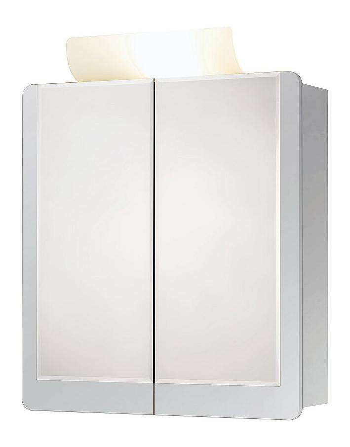 Jokey Plastik VARDÖ ECO Zrcadlová skříňka - bílá