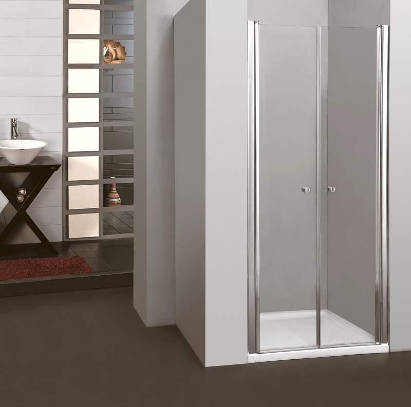 Saloon 85 New Grape sprchové dveře do niky dvoukřídlé 85-90cm