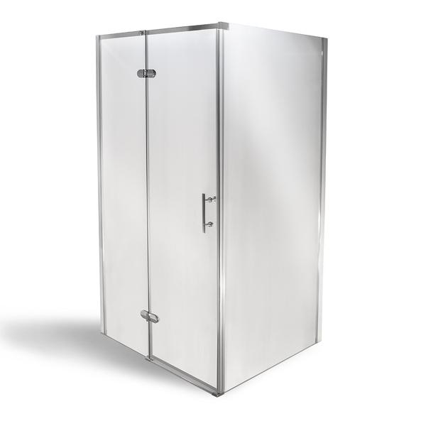 Obdélníkový sprchový kout APERTO (L/P) s otevíracími dveřmi a pevnou stěnou 1000x800 mm 4000668