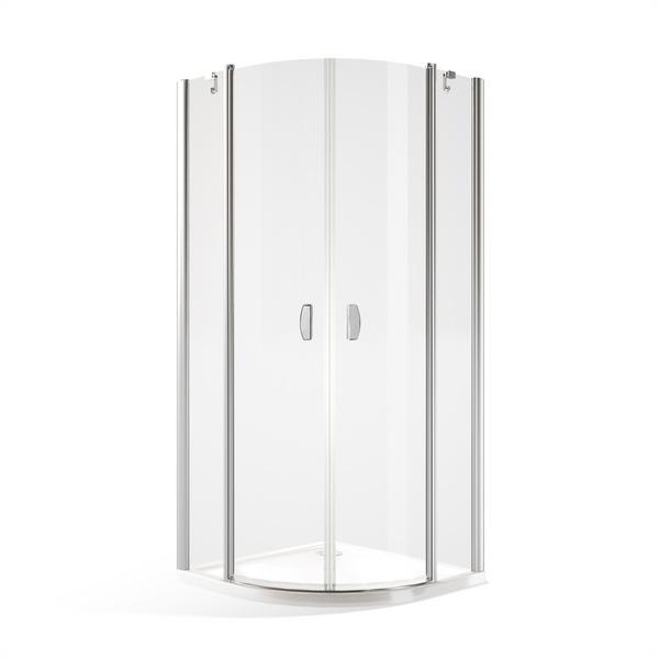 Čtvrtkruhový sprchový kout DR2 1000x1000 mm 733-1000000-00-02