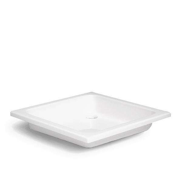 Čtvercová akrylátová vanička DREAM-s 900x900 mm. Výška 170 8000152