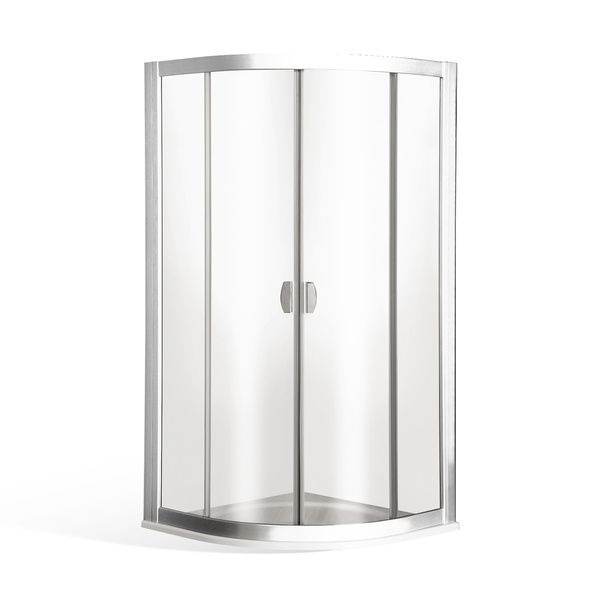 Čtvrtkruhový sprchový kout ECR2 BRILLANT čtvrtkruhový 1000x1000 mm 506-100R55N-00-03