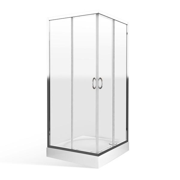 Čtvercový sprchový kout ES2 900x900 mm 558-9000000-00-02