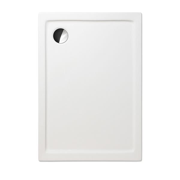Akrylátová sprchová vanička FLAT KVADRO Obdélníková 1000x750 mm 8000276