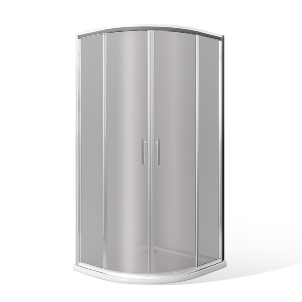Čtvrtkruhový sprchový kout HGR2/Rauch 900x900 mm. 222-9001R55-00-14