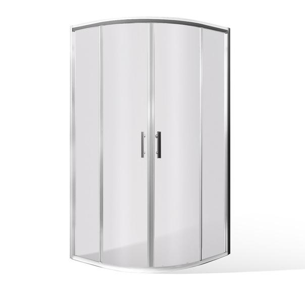 Čtvrtkruhový sprchový kout HGRD2 800x800 mm, výška 1650 mm 224-8001R55-00-02