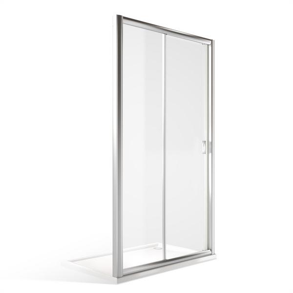 XXL posuvné sprchové dveře MD2 pro instalaci do niky 1500 mm 547-1500000-00-02