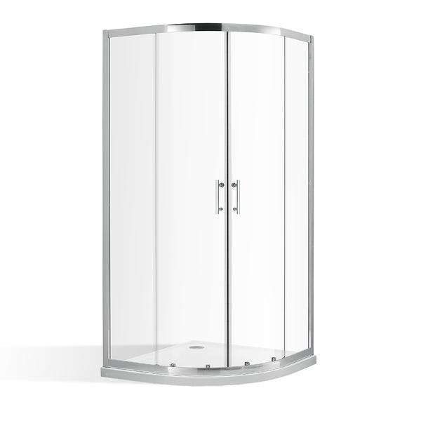 Čtvrtkruhový sprchový kout OBR2 800x800 mm s posuvnými dveřmi. 4000701