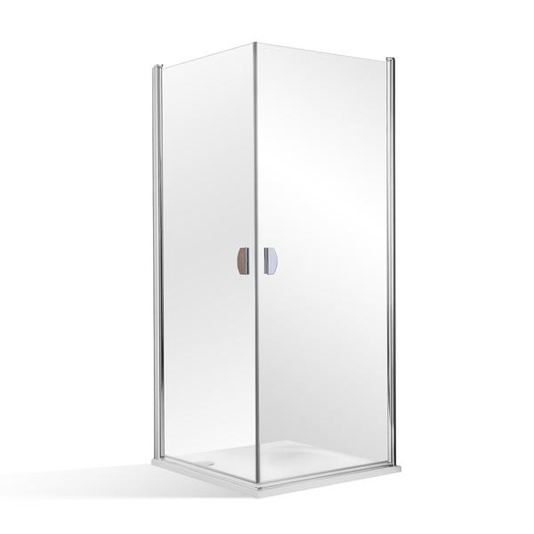 Čtvercový sprchový kout PHIL - dvoje otevírací dveře 900x900 mm 810-0000014-00-02
