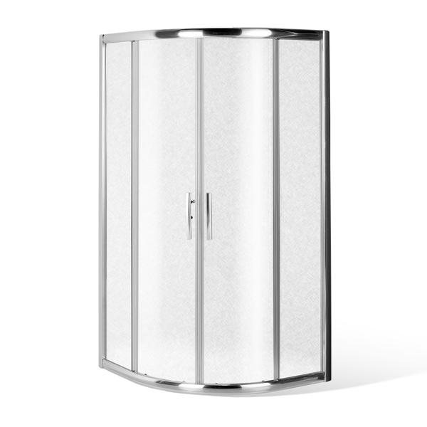 Čtvrtkruhový sprchový kout PXR2N LH/GRAPE 900x900 mm 531-900R55N-00-11