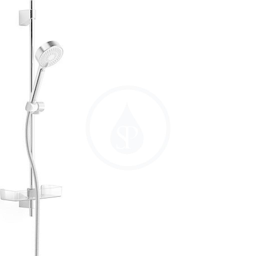 Hansa Basicjet Sprchová souprava s nástěnnou tyčí 720 mm, chrom 44780133