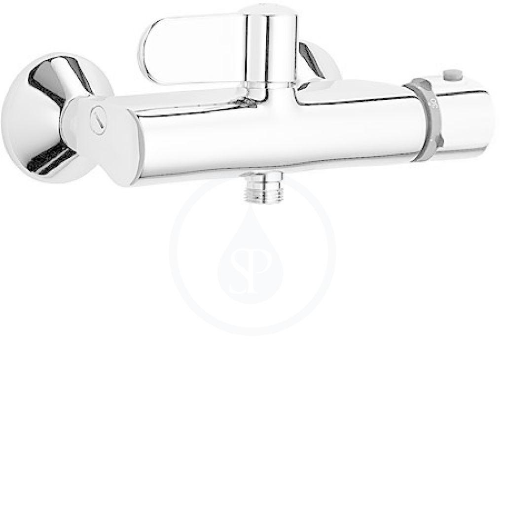 Hansa Tempra Termostatická sprchová nástěnná baterie, chrom 08240202