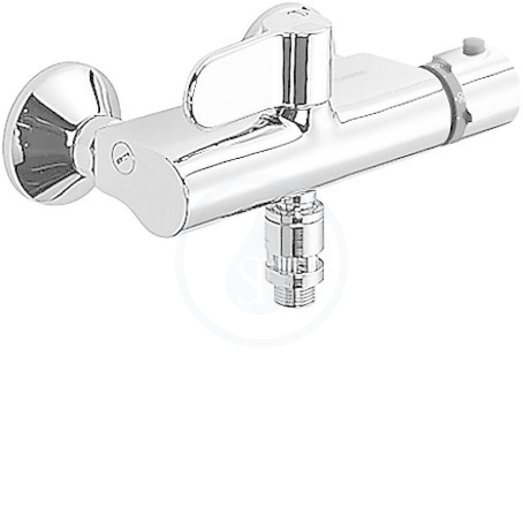 Hansa Tempra Termostatická sprchová nástěnná baterie, chrom 08240282