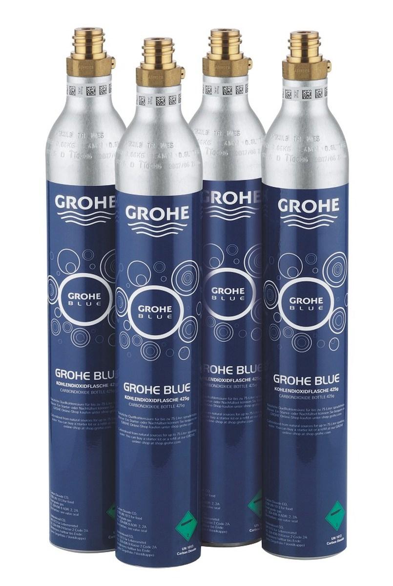Náhradní díly Tlaková láhev CO2 425g pro Grohe Blue ( 4ks ) 40422000